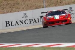 #50 AF Corse Ferrari 458 Italia GT3: Claudio Sdanewitsch, Michele Rugolo