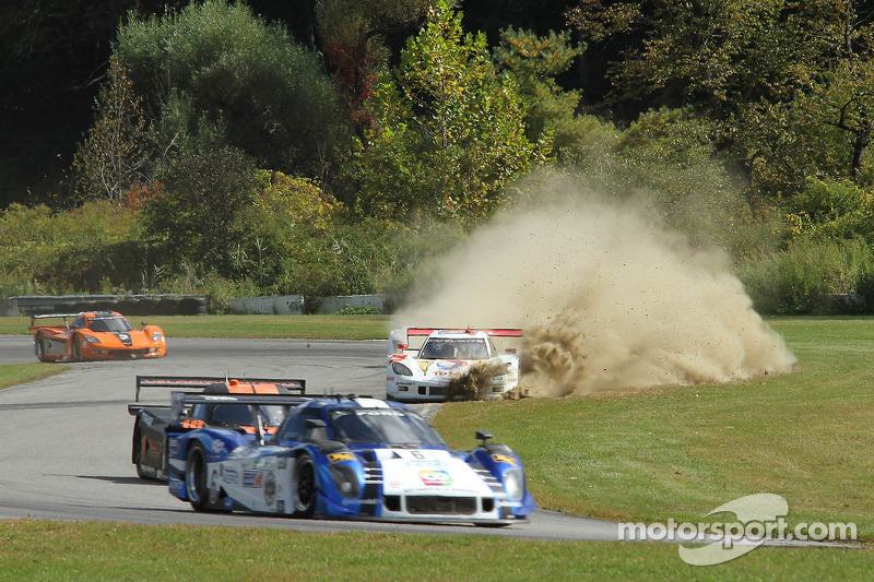 #9 Action Express Racing Corvette DP:  Burt Frisselle, Brian Frisselle gaat van de baan