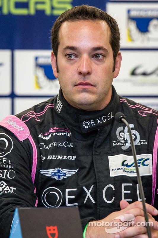 Coletiva para o North American WEC pilotos: Ricardo Gonzalez