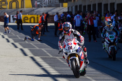 Leon Haslam heading out for superpole