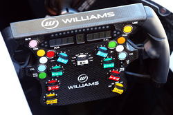 Williams FW35 steering wheel