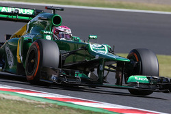 Heikki Kovalainen, Reservecoureur Caterham F1 Team