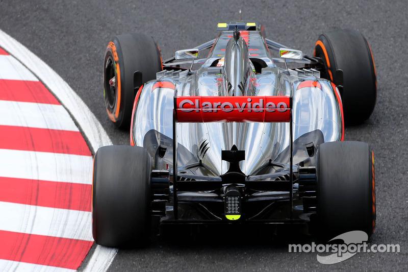 Sergio Pérez, McLaren Mercedes