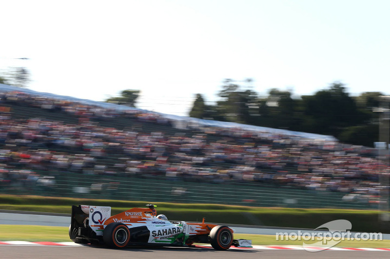 Adrian Sutil, Sahara Force India F1 Team