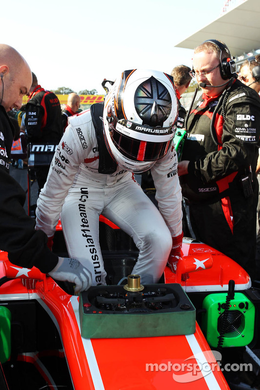 Max Chilton, Marussia F1 Team no grid