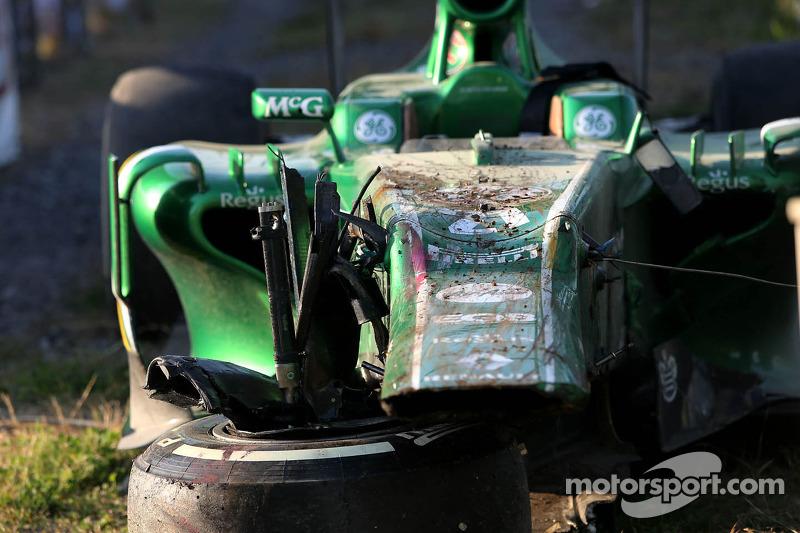 Auto de Giedo van der Garde, Caterham F1 Team