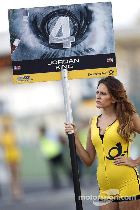 Grid girl de Jordan King