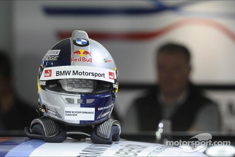 Helmet of Martin Tomczyk, BMW Team RMG, at Hockenheim II