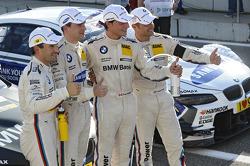 Timo Glock, BMW Team MTEK, Dirk Werner, BMW Team Schnitzer, Bruno Spengler, BMW Team Schnitzer, Andy Priaulx, BMW Team RMG