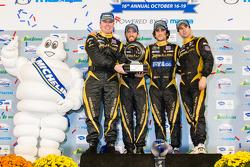 Michelin Green X Challenge prototype winners Nick Heidfeld, Neel Jani, Nicolas Prost