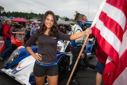 Dyson Racing flag girl