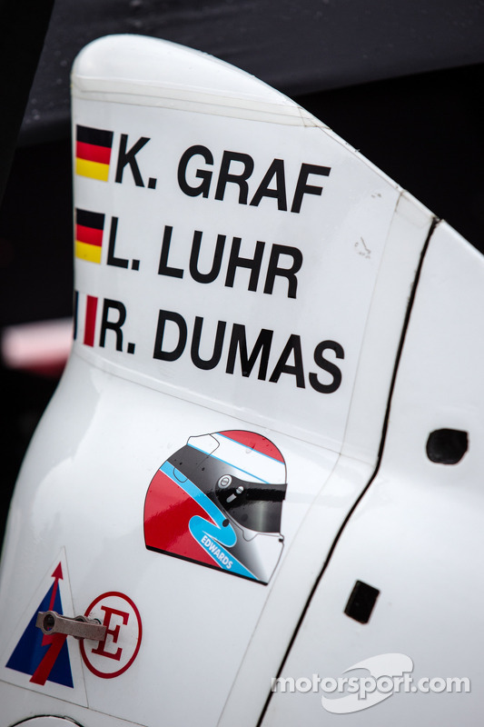 Sean Edwards adesivo no #6 Muscle Milk Pickett Racing HPD ARX-03c HPD