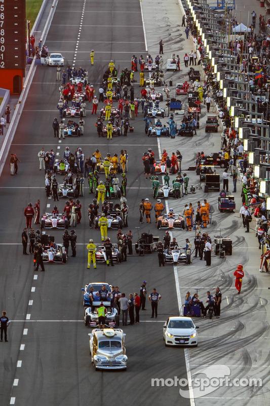 Pre-corrida grid