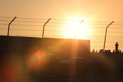 Sunset staging lane