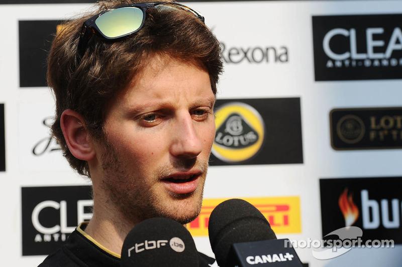 2013 - Romain Grosjean, Lotus F1