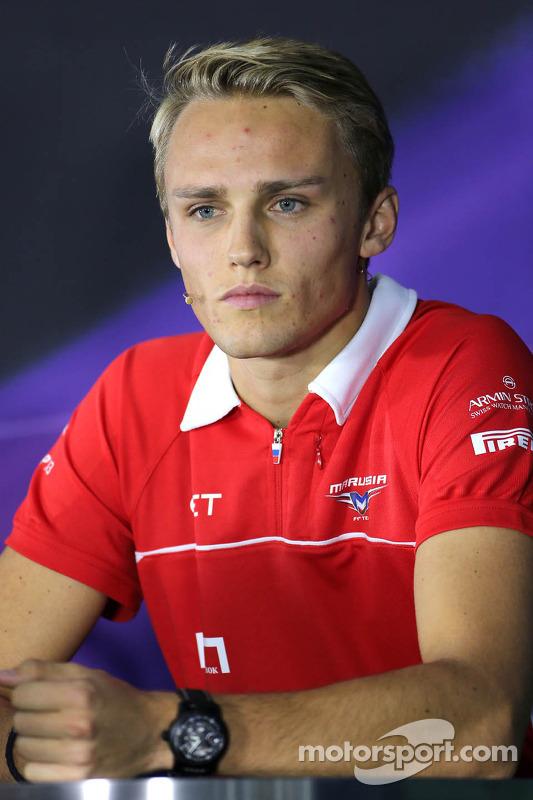 Coletiva, Max Chilton, Marussia F1 Team