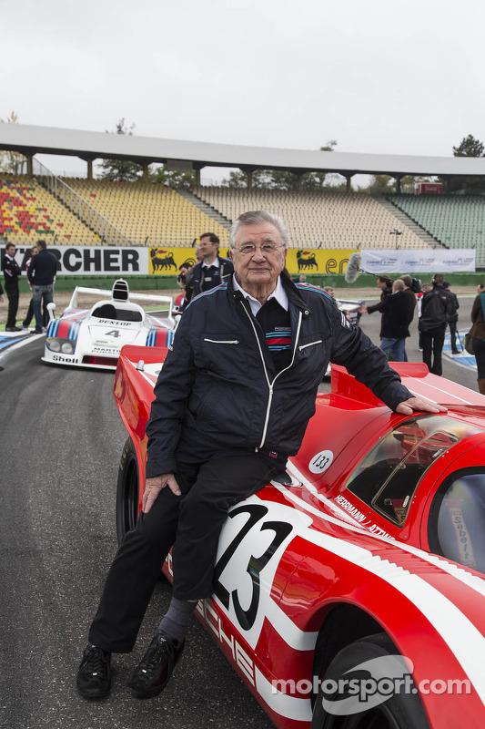 Le-Mans-Sieger 1970: Hans Herrmann und der Porsche 917 KH