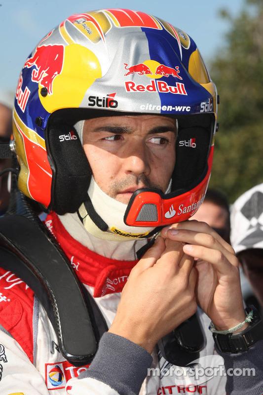 Daniel Sordo, Citroen DS3 WRC, Citroën Total de Abu Dhabi World Rally Team