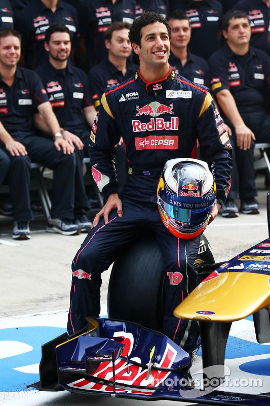 Daniel Ricciardo, Toro Rosso
