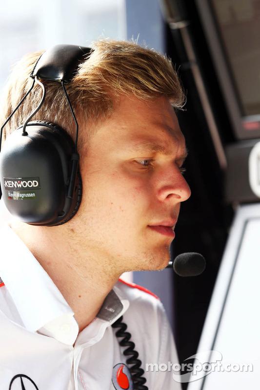 Kevin Magnussen, McLaren piloto de testes