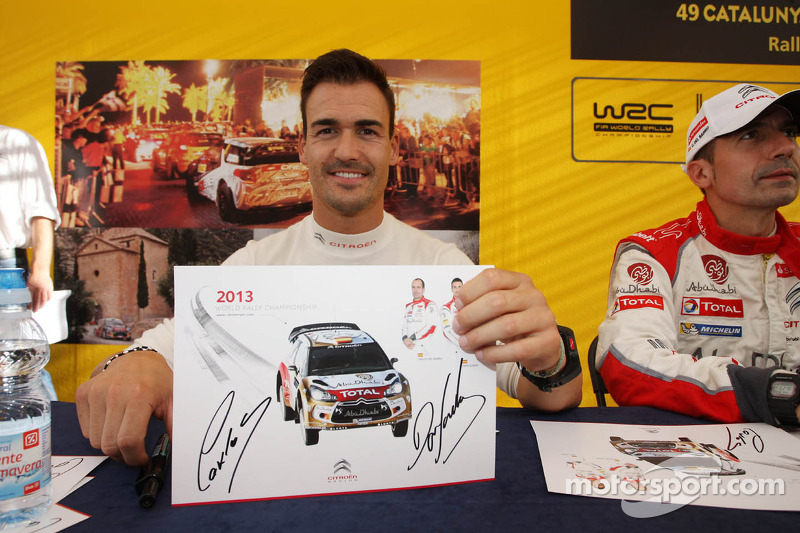 Daniel Sordo, Citroen DS3 WRC, Citroën Total Abu Dhabi World Rally Team