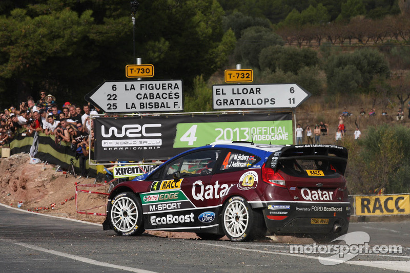 Mads Ostberg e Jonas Andersson, Ford Fiesta RS WRC, Qatar M-Sport World Rally Team