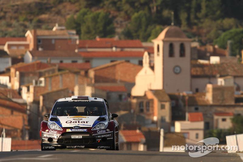 Nasser Al-Attiyah y Giovanni Bernacchini, Ford Fiesta RS WRC