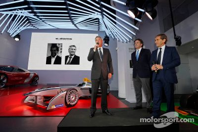 Alain Prost and Jean-Paul Driot join Formula E Championship