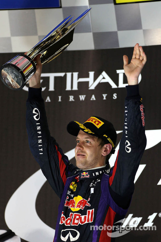 Racewinnaar Sebastian Vettel, Red Bull Racing