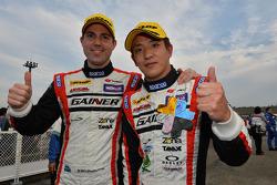 GT300 winners Katsuyuki Hiranaka, Bjorn Wirdheim