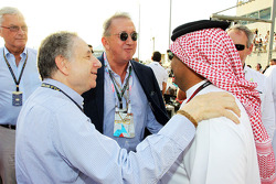 Jean Todt, FIA President on the grid