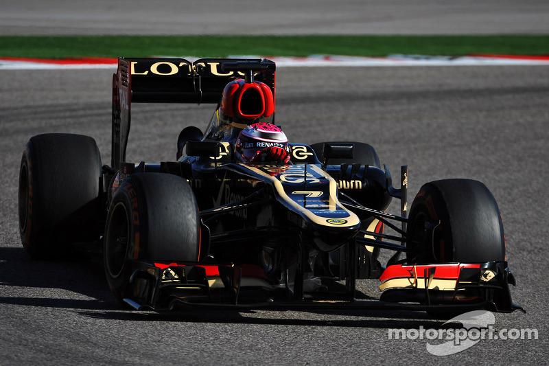 2013 - Intérim chez Lotus F1 Team