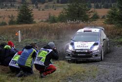 Mads Ostberg y Jonas Andersson, Ford Fiesta RS WRC, Qatar M-Sport World Rally Team