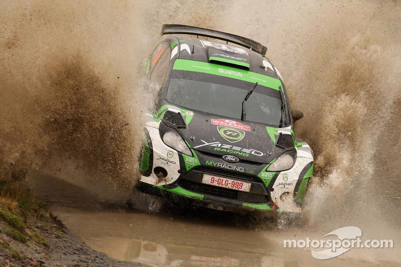 Yazeed Al Rajhi y Mathieu Baumel, Ford Fiesta RRC