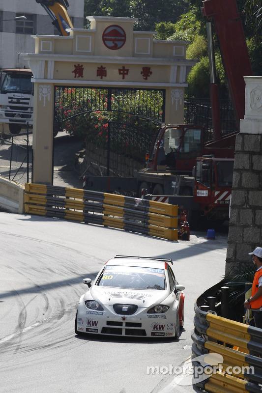 Michael Soong, Seat Leon WTCC, Campos Racing