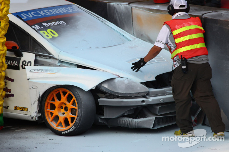 Michael Soong, Seat Leon WTCC, Campos Racing bate