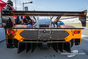 Rear diffuser on the #60 Michael Shank Racing Riley Ford EcoBoost V6
