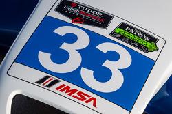 #33 Riley Motorsports SRT Viper GT3-R IMSA signage