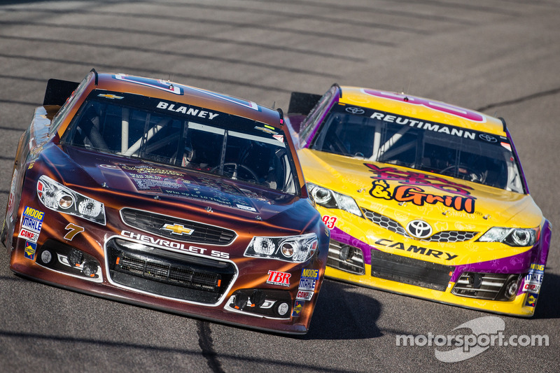 Dave Blaney, Chevrolet en David Reutimann, BK Racing Toyota