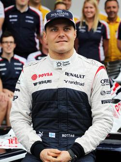 Valtteri Bottas, Williams em foto da equipe