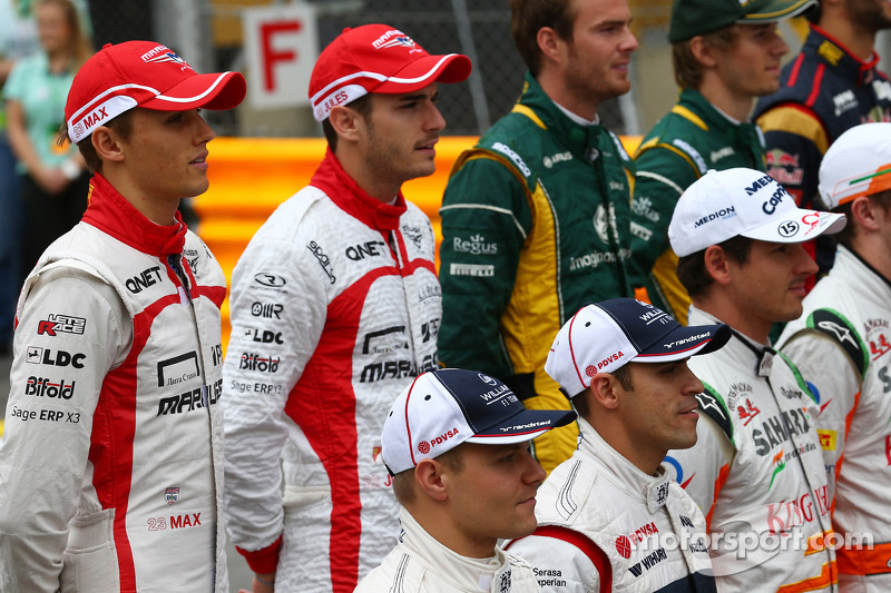 El primer compañero de Bianchi como titular en F1