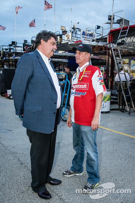 NASCAR Presidente Mike Helton e Eddie Wood