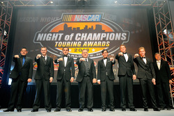 The various NASCAR touring champions
