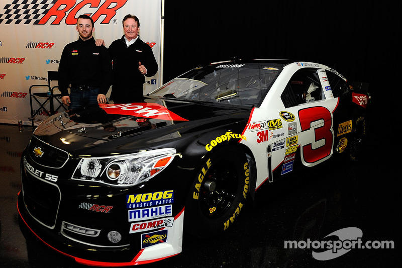 Austin DIllon en Richard Childress