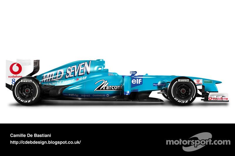 Auto Retro F1 - Benetton 2001