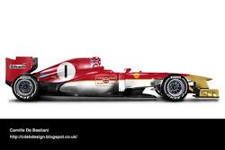 Formel-1-Auto im Retrodesign: Lotus 1969