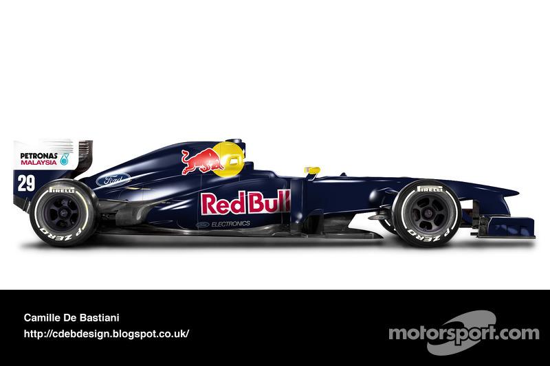 Carro de F1 retrô - Sauber 1995