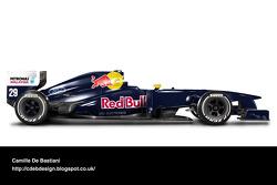 Retro F1 car - Sauber 1995