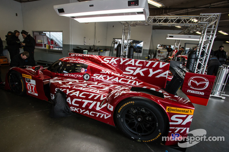 #07 SpeedSource Mazda Mazda