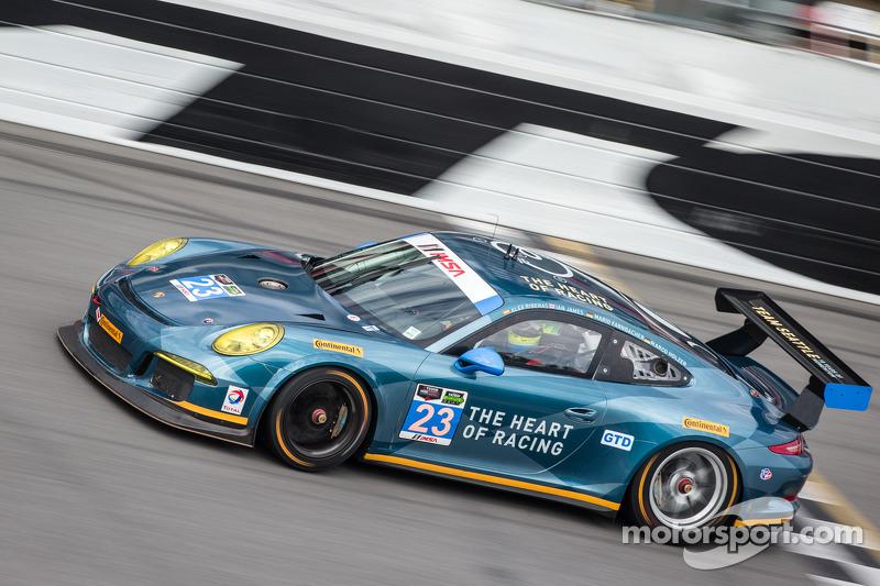 #23 Team Seattle / Alex Job Racing Porsche 911 GT America: Ian James, Mario Farnbacher, Alex Riberas